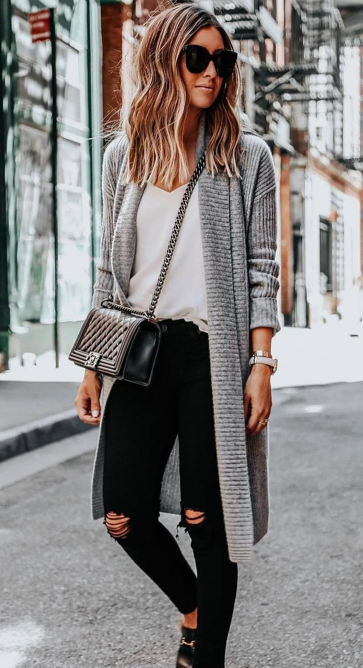 Fall Fashion: 30 Cool Ways to Wear Baby Blue this Fall forecast