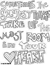 All Quotes Coloring Pages Lots Of To Print