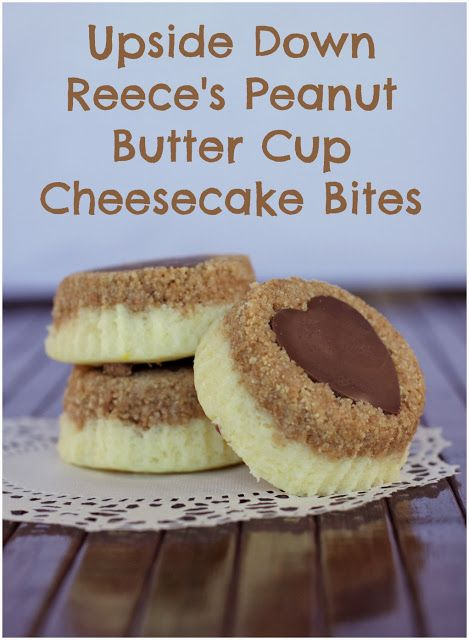 Easy NO BAKE Reese's Cheesecake Bites