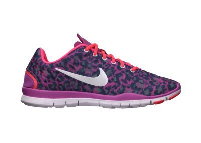 nike free tr iii printed womens training shoe pink leopard boutique