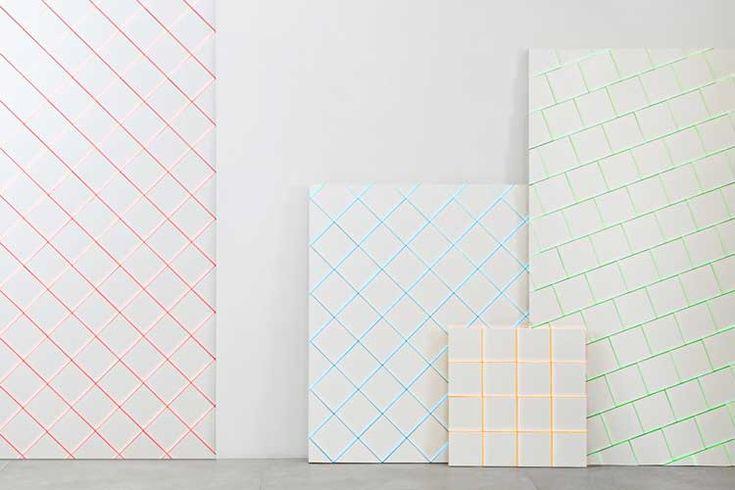 Lechada de colores para los azulejos #tiles #painting