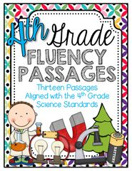 4th Grade Social Studies Fluency Passages from Barnard Island on TeachersNotebook.com (17 pages)