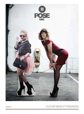Pose Mag 4 - Daphné Bürki