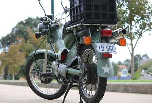 Honda CT110 Postie Bike - Army Design - er mah gerd