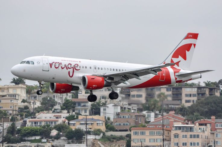 C-GBHY operating the daily Air Canada Rouge flight from Toronto Pearson on Aug. 1, 2015.
