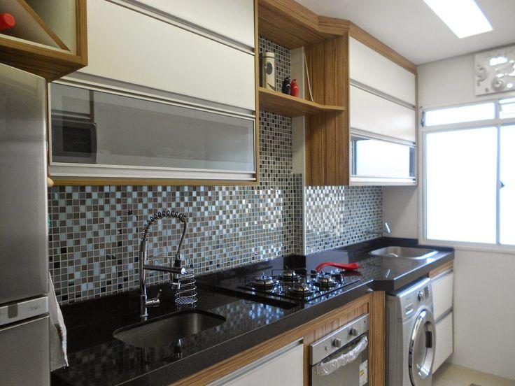   Cozinha apartamento, Cozinha planejada apartamento et Cozinha