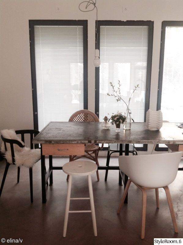 keittiö,ruokapöytä,ruokapöydän tuolit,ruokaryhmä,ruokatuolit