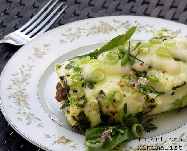 The Intentional Minimalist: Purslane Omelette Bake