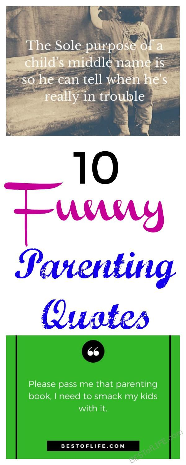 Being a parent helps you to understand these 10 funny parenting quotes, even if you love your children as much as possible we all can relate. via @AmyBarseghian