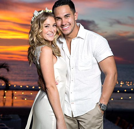 Presenting the PenaVegas! Check out exclusive pics from Spy Kids star Alexa Vega and Big Time Rush rocker Carlos Pena, Jr.'s wedding in Mexico. So romantic!
