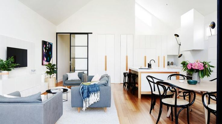 modern renovation: a three-bedroom terrace is transformed