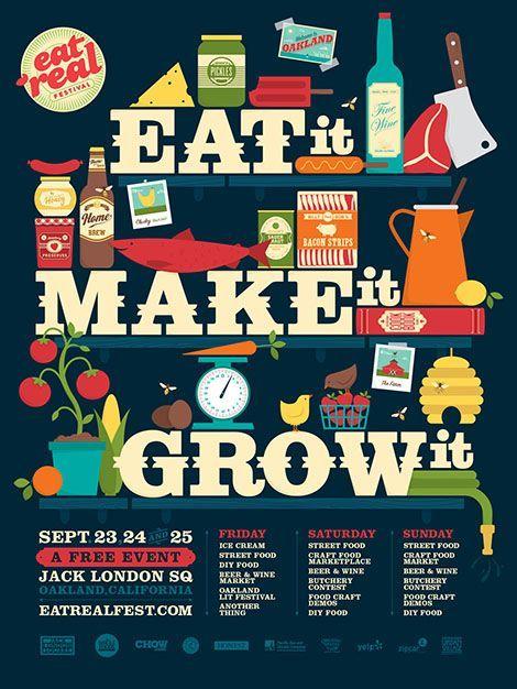 Poster Illustration Grocery