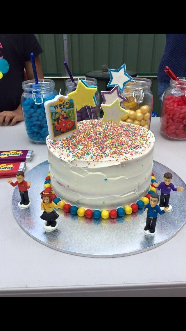 #thewiggles #wigglecake #2ndbday #wigglypartyideas #wigglyparty #wigglesfan