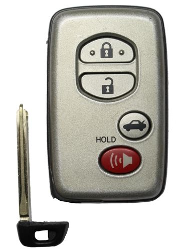 Toyota Hyq14aab Oem 4 Button Key Fob 271451 0140 Car Key Replacement Toyota Corolla Smart Key