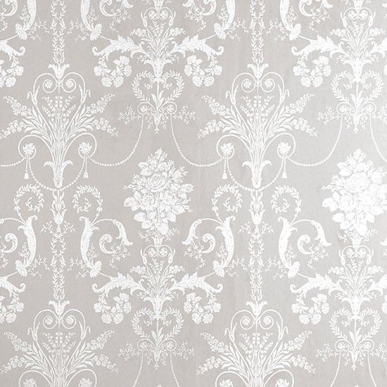 Josette Damask wallpaper from Laura Ashley | Bathroom wallpapers | Bathroom | PHOTO GALLERY | 25 Beautiful Homes | Housetohome.co.uk