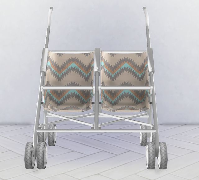 Sims 4 CC's - The Best: Double Stroller by HomeLivingSims  Somewhat charming! http://www.geojono.com/