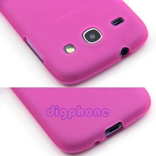 Matte TPU Silicone Gel Case Cover For Samsung Galaxy Core I8260 i8262