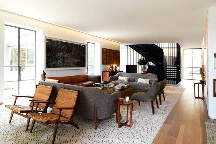 Cate Blanchett's Sydney Home Living Room