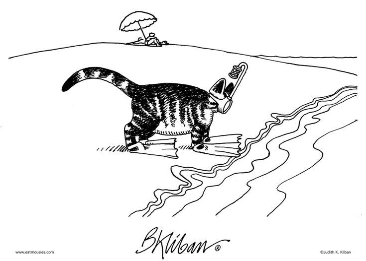 582 Best Kliban Cats Images On Pinterest