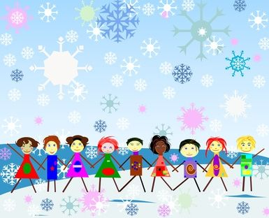 Christmas Games for Large Groups of Kids