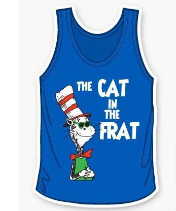 Cat in the Frat tank
