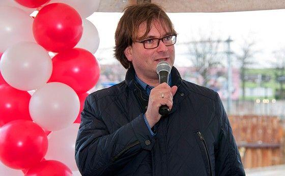 Barry Braeken, Gemeente Heerlen at the opening of phase 1, Maankwartier, Heerlen