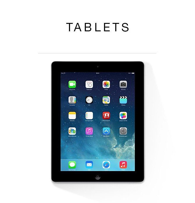 Certified Refurbished Tablets