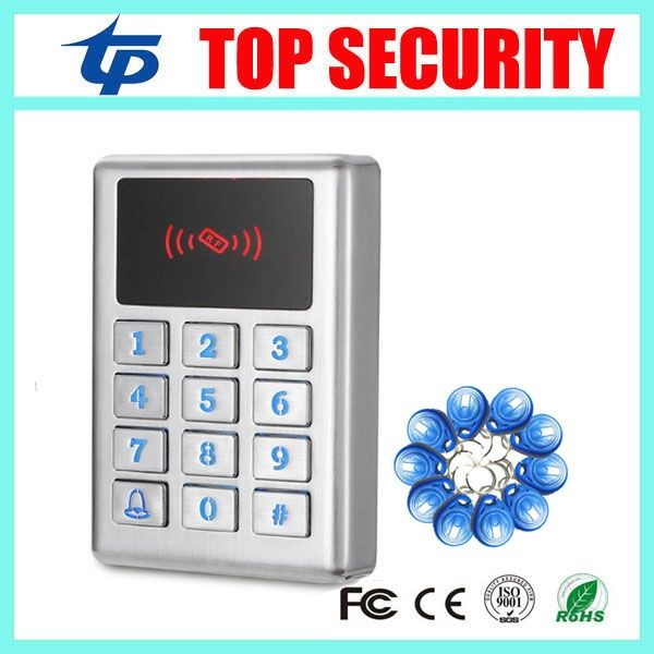 37.99$  Buy now - http://alil5a.shopchina.info/go.php?t=32706418811 - Standalone door access control system 125KHZ RFID card metal case door access controller surface waterproof card reader M11 37.99$ #shopstyle