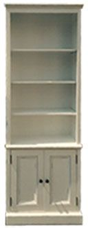 $ LOW PRICES • Wood Bookcases - standard & custom sizes & styles - finished or unfinished - alder, oak, maple, parawood • Al's Woodcraft