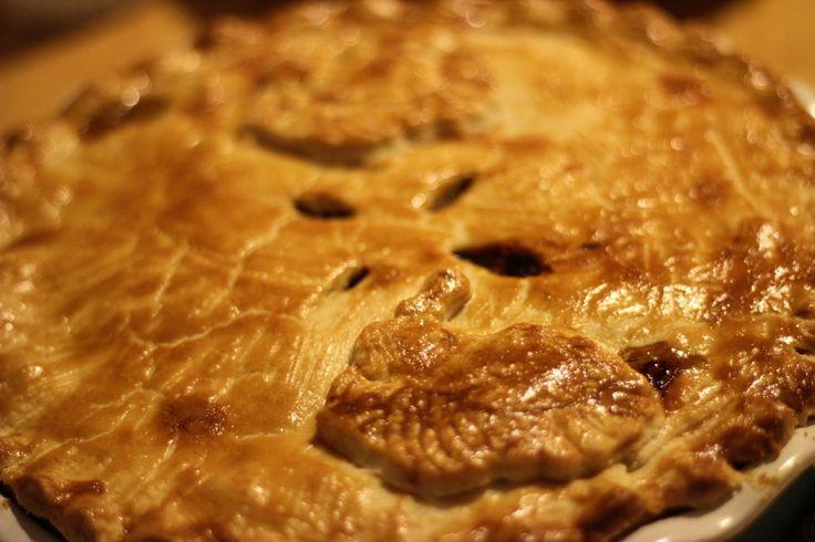 tukey and leek pie | vikalinka.com
