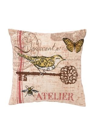 68% OFF Peking Handicraft Atelier Birds II Pillow