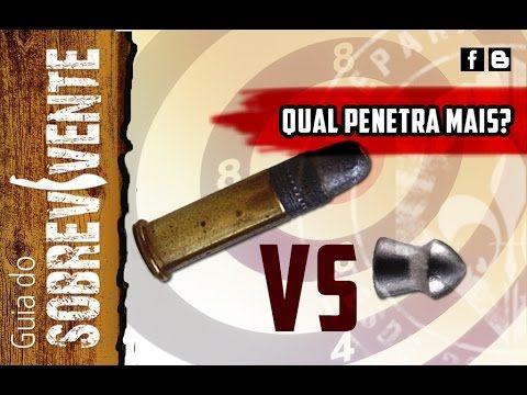 CBC .22 LR vs Gamo pró Magnum - Teste de perfuração.
