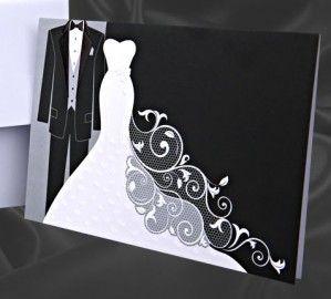 Hochzeitskarte Malaika