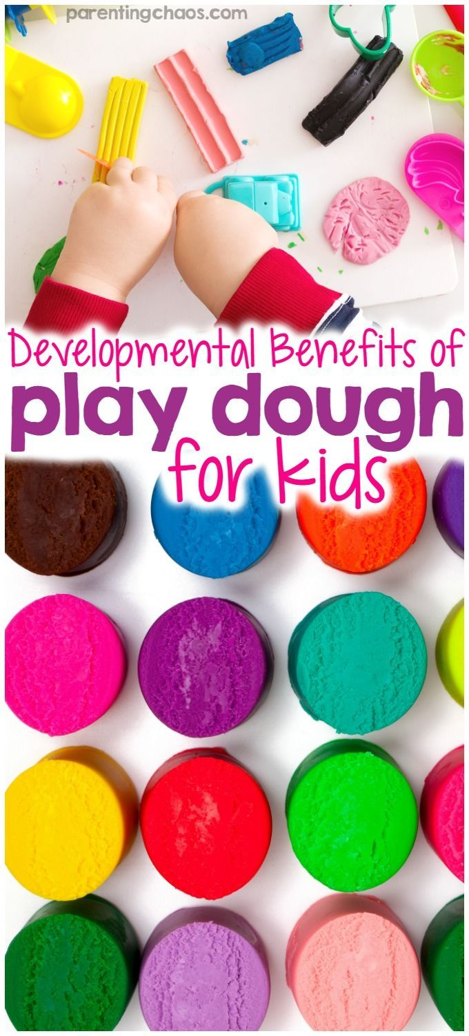 Squish, smash, twist, turn…mess. We have all had experiences with playdough, whether in our own childhood or with our own children. But outside of simple messy play, what exactly is playdough good for? While some may find this surprising, play dough has a wide array of developmental, learning, and sensory benefits for kids. via @pixilatedskies