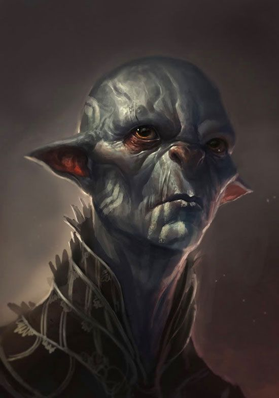 character design art | Digital Art: Alien Character Designs
