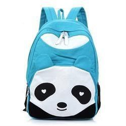 Cute Large-Capacity Panda Fashion Design Quality Backpack 5 Colors