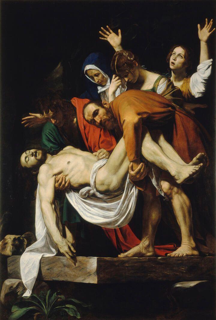 «Положение во гроб» Караваджо. Почему это шедевр?