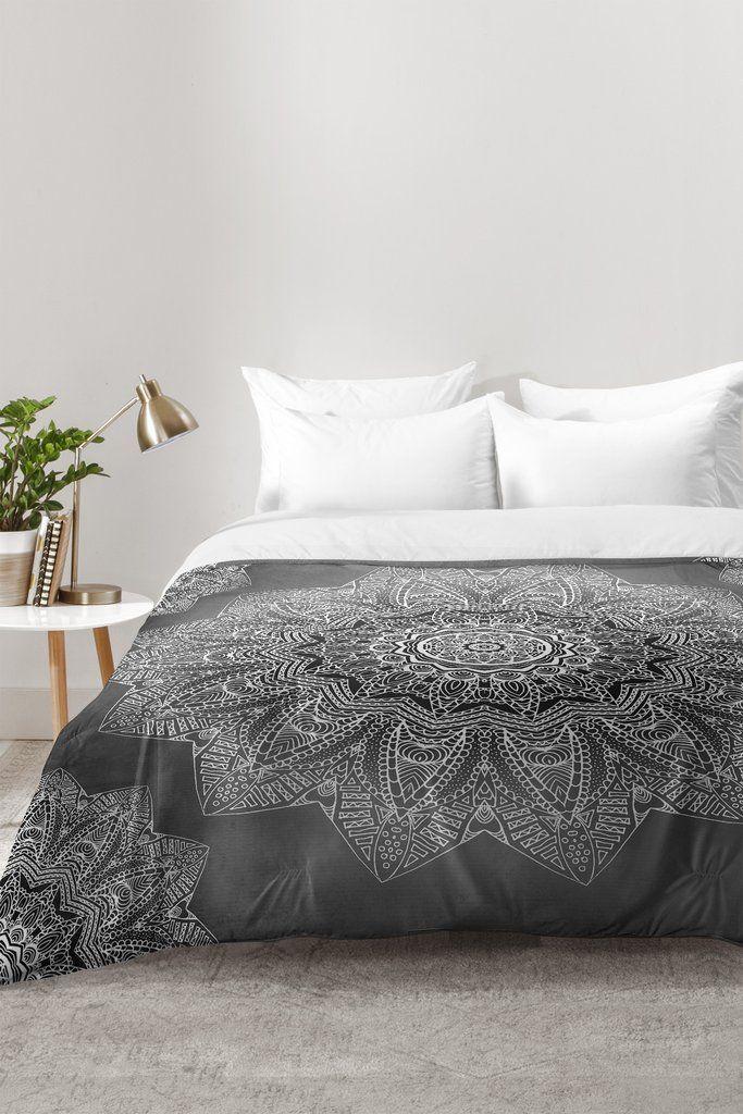 Monika Strigel SERENDIPITY BLACK Comforter   DENY Designs Home Accessories