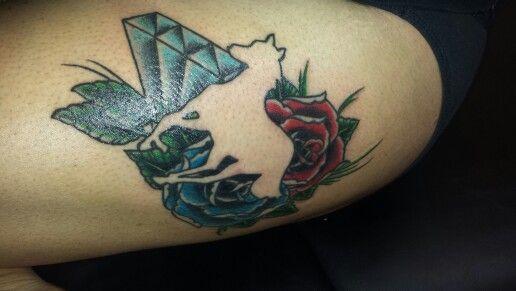 My fave tattoo on myself
