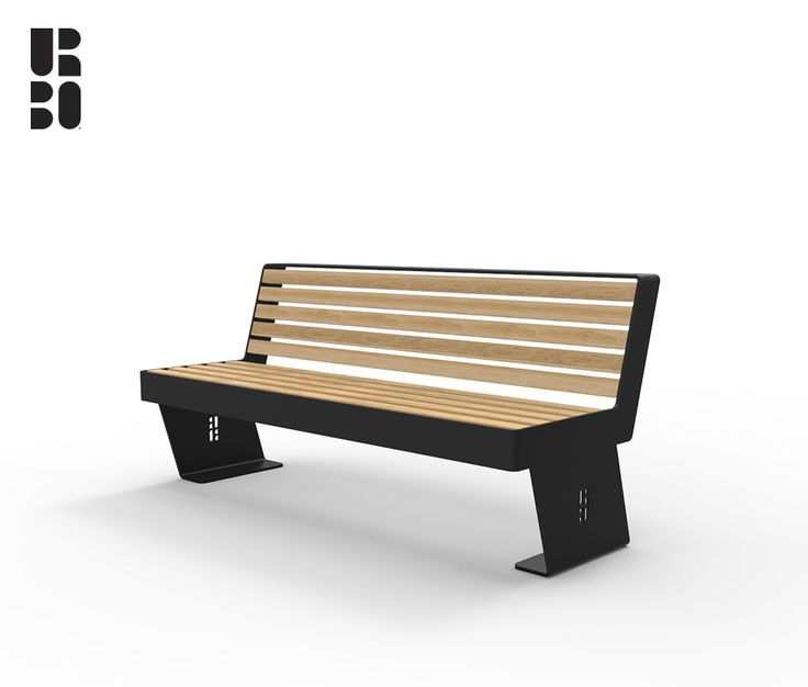 Noir panchina / bench wood