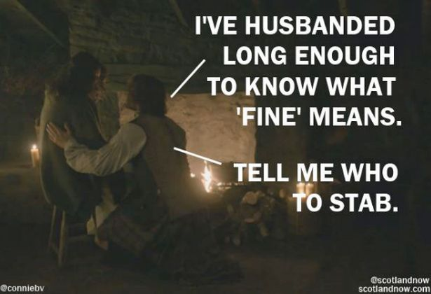 """OUTLANDER fan and blogger Connie Verzak relives every moment from Outlander's latest episode, """"Je Suis Prest"""", with this stunning recap."""