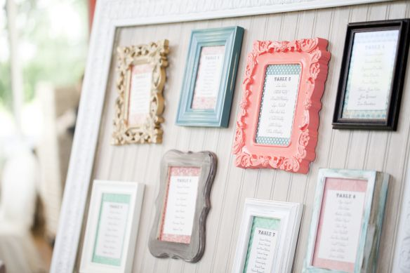 small frames for table seating plan