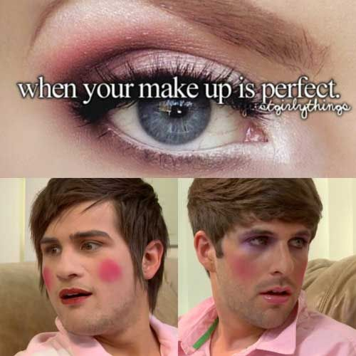 """Makeup for men"" was the first smosh video I saw. <3"