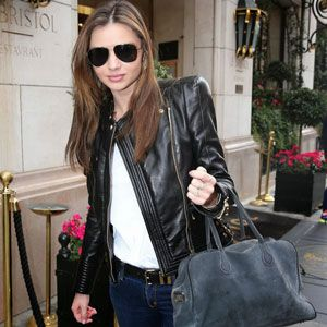 17 Best images about Celebrity Women Leather Jackets on Pinterest ...