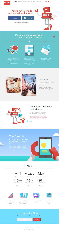 Inspiración Diseño Web / Flat Design 1# 03/2014