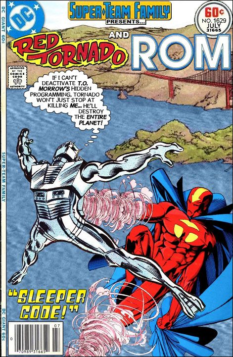 I am glad to see that ROM is finally returned to comics with his new home at IDW. I always thought is was such a shame that he remained i...