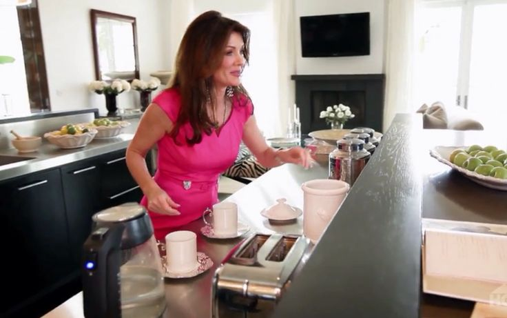 Villa Rosa - kitchen - Lisa Vanderpump home