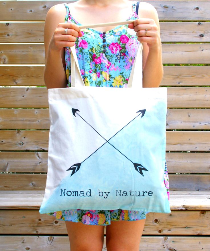 Did dyed Organic Cotton & Fair Trade tote bag in Mint and Fuchsia colours.