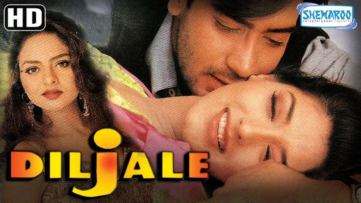 """Diljale {HD} - Ajay Devgan - Sonali Bendra - Amrish Puri - Madhoo - Hindi Full Movie """"Diljale is a story about love and patriotism. Captain Ranvir is assigned the task of apprehending two terrorists named Shaka and Dara. Upon arrival in the region he falls in love with Radhika the daughter of Rajasaheb who also is a Minister. The latter approves of him and arranges his wedding with his daughter. Before the engagement could take place Ranvir finds out that he has a rival in Shaka who was in…"""