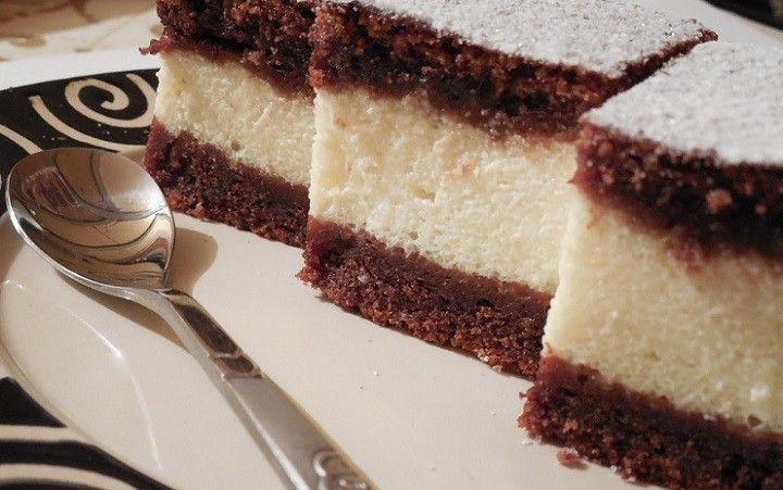 Csokis túrós süti - kavart tészta, nem lehet elrontani - MindenegybenBlog